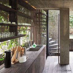 ♥ MODERN TROPICAL HOME IN INDONESIA