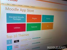 Breaking News: Moodle App Store [Leaked] App Store, Blind, Microsoft, Teacher, Education, News, School Stuff, Classroom Ideas, Professor