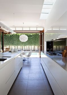 Pin more great images of this house and others at http://www.designhunter.net/sustainable-inner-city-architecture/  #architecture #sustainable architecture #interior design