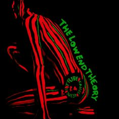 "A hip hop group called A Tribe Called Quest released an album cover for their album ""The Low End Theory"". This is an example of typography because ""The Low End Theory"" is written on the low end of the back. Iconic Album Covers, Greatest Album Covers, Music Album Covers, Best Album Art, Rap Albums, Best Albums, Music Albums, Greatest Albums, Film Music Books"