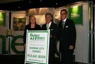 Sherry Chris, President and CEO of Better Homes and Gardens Real Estate and Alexander E. Perriello, President and Chief Executive Officer of the Realogy Franchise Group welcome David Cooper and his company to the Better Homes and Gardens Real Estate network.