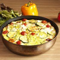 Tomato and Zucchini Casserole