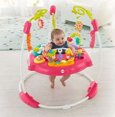 Amazon.com : Fisher-Price Jumperoo, Pink Petals : Baby