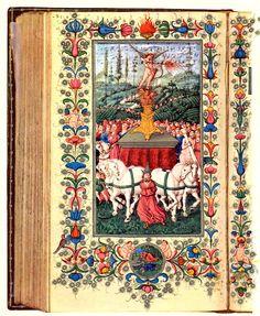 """Canzoniere"" di Francesco Petrarca, sec. XV, Biblioteca Trivulziana, Milano, Italy"
