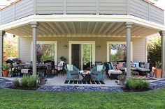 Katja's Colorful, Patterned Patio — My Great Outdoors
