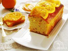 オレンジのパウンドケーキのレシピ | キッチン | パンとお菓子のレシピポータル
