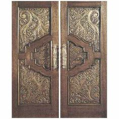 Teak Double Door without Frame Middle-East Carving Design Veronica . Teen Closet, Carving Designs, Double Doors, Middle East, Teak, Image Search, Frame, Veronica, Furniture