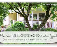 5 tips to adding Cottage Curb Appeal to your home!