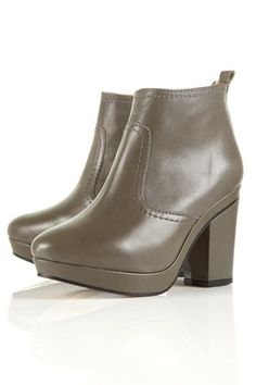 ALIBI Mid Ankle Boots - StyleSays