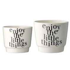 Bloomingville Blumentopf Where Flowers Bloom SO Does Hope, Creme/Mint Enjoy The Little Things, Nice Things, Kitchenware, Tableware, Book Letters, Gardening, Joy And Happiness, Potted Plants, Plant Pots