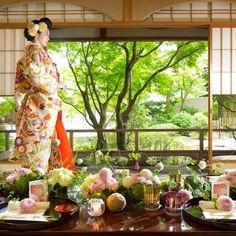 グランドプリンスホテル京都  平日限定和のはなれ「茶寮」でのウエディングプラン