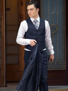Chuck Bass is hot and stylish!