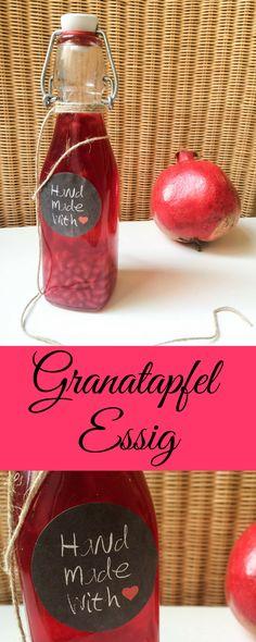 Granatapfel Essig #granatapfelessig #granatapfel #pomgranate
