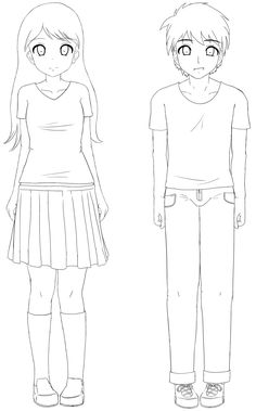 Sekai's Blog: Apprendre à dessiner Manga: Tutoriel Manga: Comment dessiner les habits (les bases)