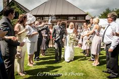 Passion 4 Photos @ Lakeview Manor Hotel near Honiton. 1st Dance Photo. Professional wedding photographer covering Devon, Somerset and Dorset.  Confetti shot!