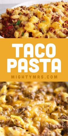Easy Pasta Recipes, Easy Chicken Recipes, Cooking Recipes, Geound Beef Recipes, Easy Pasta Bake, Yummy Easy Dinners, Easy Pasta Meals, Casseroles With Chicken, Top Crockpot Recipes