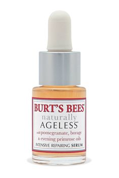 Burt's Naturally Ageless Intensive Repairing Serum Emma Stone's Makeup - Best Drugstore Buys - Harper's BAZAAR (Good for sensitive skin!)