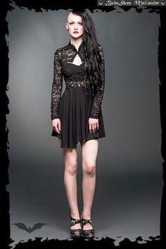 Black Lace Bolero - Queen Of Darkness   Topjes