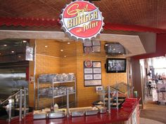 Guy's Burger Joint on the Carnival Liberty Carnival Liberty Cruise, 10 Anniversary, Cruises, Vacations, Low Carb, Summer, Low Carb Recipes, Vacation, Cruise