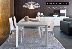 Calligaris 'Omnia' dining table. This extendable table has a wooden frame and a square glass top. NOW ON SALE. Up to 30% off. Visit: http://www.simplysofas.in/dining-tables #dining #Sale #sofa #furniture #India #NowOnSale #SimplySofasSale #decor #interiors #furnituresale #offer #discount #topbrands #julysale #worldsbest