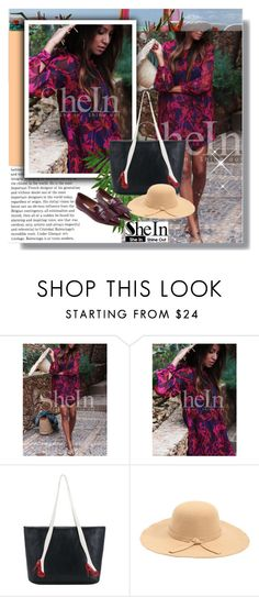 """""""SheIn 1"""" by selmina ❤ liked on Polyvore featuring vintage, Sheinside and shein"""