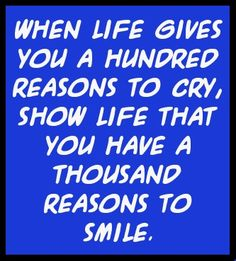 When life makes you cry – Quote