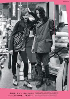 coop6 Viktoriya Sasonkina & Karlie Kloss for Barneys CO OP Fall '09