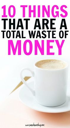 Save money with these tips on things you don't need to purchase. If you want to embrace frugal living, stop wasting money on unnecessary things and start saving money and sticking to a budget with these personal finance tips.