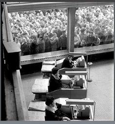Eustachy Kossakowski - reportaż z otwarcia Supersamu w 1962 r.