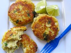 Yuca and Cod Fish cakes. I will be substituting the bread crumbs, butter and cream with PALEO friendly ingredients.