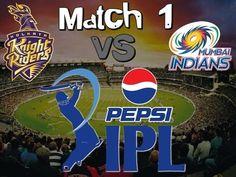 IPL 2015 Kolkata Knight Riders vs Mumbai Indians Match 1 Winner team