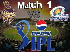 IPL 2015 Kolkata Knight Riders vs Mumbai Indians Match 1 Winner team