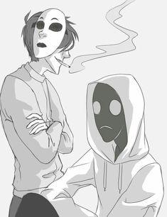 ●●● Masky and Hoodie