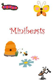 Minibeasts songs and rhymes - a resource containing several rhymes and poems about minibeasts.
