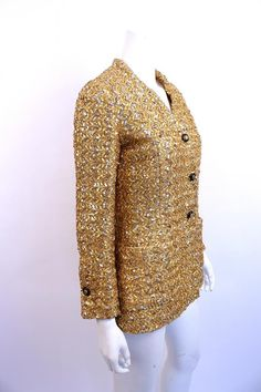 The Beige Bouclé Jacket Chanel Style Jacket, Couture Jackets, Boucle Jacket, Chanel Couture, Beige, Chanel Fashion, Vintage Chanel, Bell Sleeve Top, Beautiful