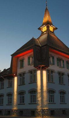 © FLUX LIGHTING. Produits utilisés : X-LINE³. Bercher (Suisse).