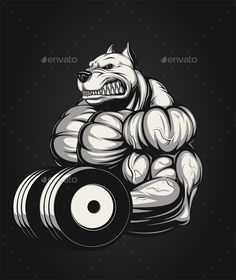 Strong Dog - Sports/Activity Conceptual