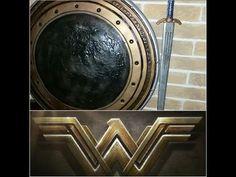 DIY Wonder Woman Tiara: Wonder Woman Cosplay Part 2 - YouTube