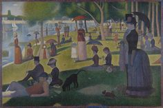 George Seurat is the latest in Charles Saatchi's new series of articles in the Daily Telegraph on his favourite masterpieces.  http://www.telegraph.co.uk/art/what-to-see/charles-saatchis-great-masterpieces-sunday-afternoon-island/