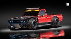ArtStation - Datsun 620 Driftrakete, CS 23 - My Cars - superschnelle Autos Drift Truck, Rc Drift Cars, Patrol Gr, Lowrider Trucks, Pajero Sport, Nissan Trucks, Lowered Trucks, Datsun 510, Drifting Cars