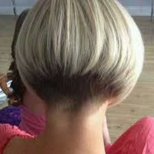 "hair_beauty-hairdare style women ""Very short bob hairstyles most popular this year ""Short graduated bob with very short nape. Short Stacked Haircuts, Short Bob Haircuts, Short Hair Cuts, Short Hair Styles, Bob Styles, Pixie Cuts, Undercut Short Bob, Short Bob Cuts, Undercut Women"