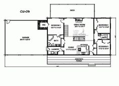 Golden Eagle Log Homes: Floor Plan Details: CW-05