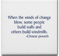 Be the windmill...