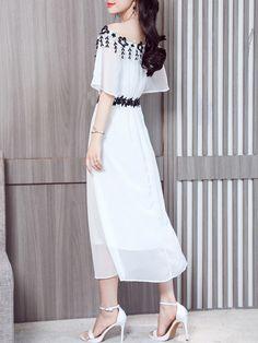 9278a2bce7c0 Spaghetti Strap Decorative Lace Color Block Lace Maxi Dress #Ad ,  #SPONSORED, #