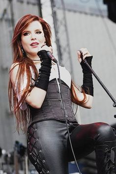 Ailyn Giménez (born: May 29, 1982, Esplugues de Llobregat, Spain) is a Spanish singer and songwriter. She is best known as the current female vocalist of the Norwegian symphonic/gothic metal band Sirenia.