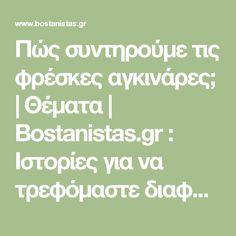 Πώς συντηρούμε τις φρέσκες αγκινάρες; | Θέματα | Bostanistas.gr : Ιστορίες για να τρεφόμαστε διαφορετικά