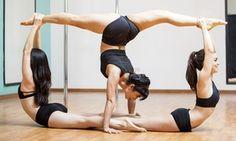 Groupon - 1 cours au choix de pole danse pour 1 ou 2 personnes, collectif ou…