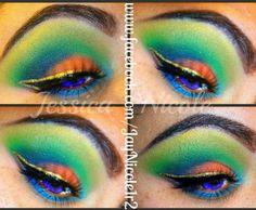 Parrot Halloween Makeup