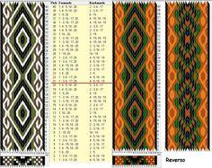 20 tarjetas, 4 colores, repite cada 20 movimientos // sed_970 diseñado en GTT༺❁