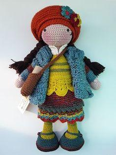 Irresistible Crochet a Doll Ideas. Radiant Crochet a Doll Ideas. Amigurumi Doll, Amigurumi Patterns, Doll Patterns, Cute Crochet, Crochet Baby, Knit Crochet, Knitted Dolls, Crochet Dolls, Crochet Doll Pattern